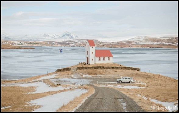 Iceland Wedding Ceremony Location Lakeside Country Church