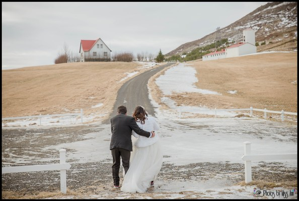 Iceland Wedding in February Elopement Photos by Miss Ann