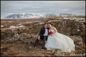 Iceland Wedding Locations Thingvellir National Park Iceland Winter Wedding Photos