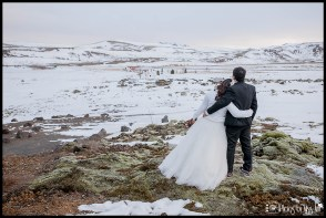 Beautiful Iceland Winter Wedding Photos by Miss Ann