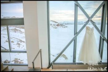 Iceland Wedding Dress at ION Luxury Adventure Hotel Wedding