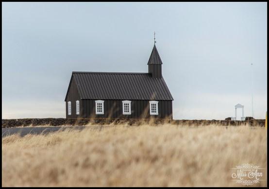 Little Black Church Iceland Wedding Budir Church Snæfellsnes Peninsula