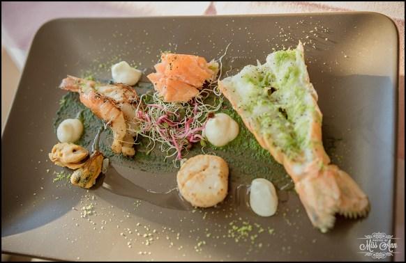 Iceland Wedding Meal Hotel Grimsborgir