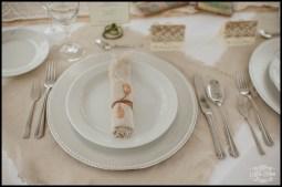 Iceland Wedding Reception Place Setting Hotel Grimsborgir
