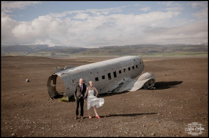 Iceland Wedding Photos Crashed Airplane-6