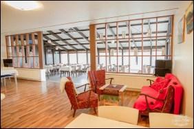 Brimnes Hotel Lobby Northern Iceland Wedding Locations