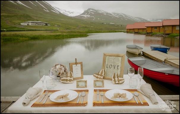 Iceland Elopement Northern Iceland Brimnes Hotel and Cabins