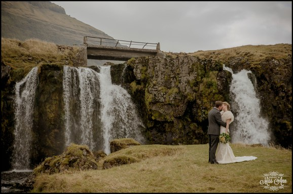 Iceland Wedding Kirkjufellsfoss Waterfall