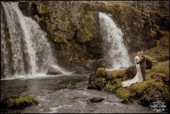 Iceland Wedding Photographer Kirkjufellsfoss Photos by Miss Ann