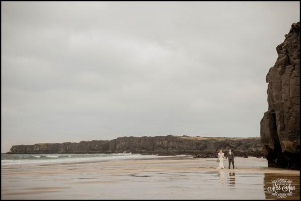 Iceland Wedding Skardsvik Beach 5
