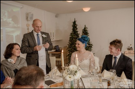 Northern Lights Inn Wedding Speech