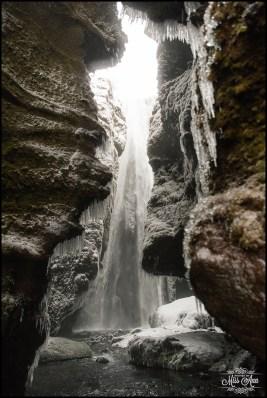 Gljufrabui Waterfall Iceland Wedding Photographer