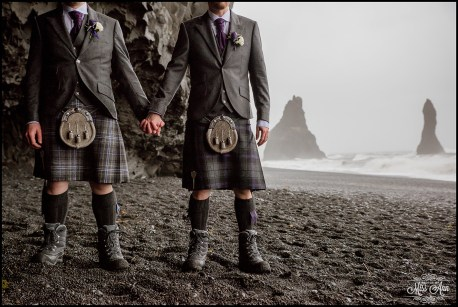 Iceland Wedding Photographer Reynisfjara Beach