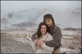Fjallsarlon Glacier Lagoon Wedding Photos by Miss Ann