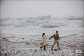 Iceland Jokulsarlon Glacier Lagoon Wedding