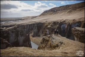 Iceland Post Wedding Session Fjadrargljufur Canyon