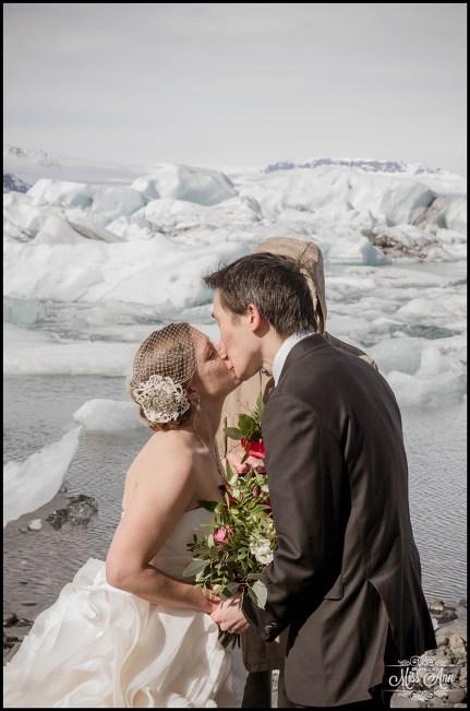 Jokulsarlon Glacier Lagoon Wedding - 5