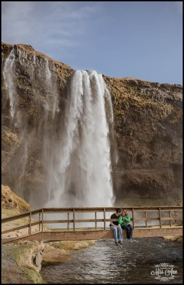 Seljalandsfoss Pre Wedding Session Photos by Miss Ann