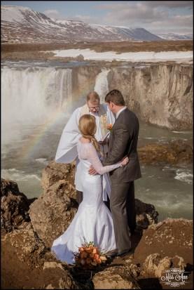 Godafoss Waterfall Iceland Wedding Photographer-1