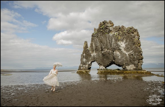 Hvitserkur Sea Arch Iceland Wedding Photographer-2
