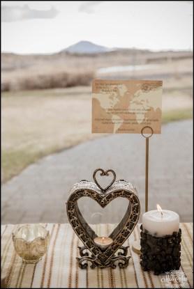 Iceland Wedding Centerpiece