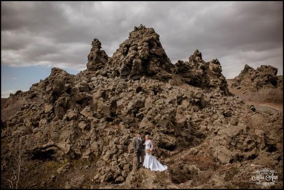 Iceland Wedding Photographer Dimmuborgir Lava Fields-1
