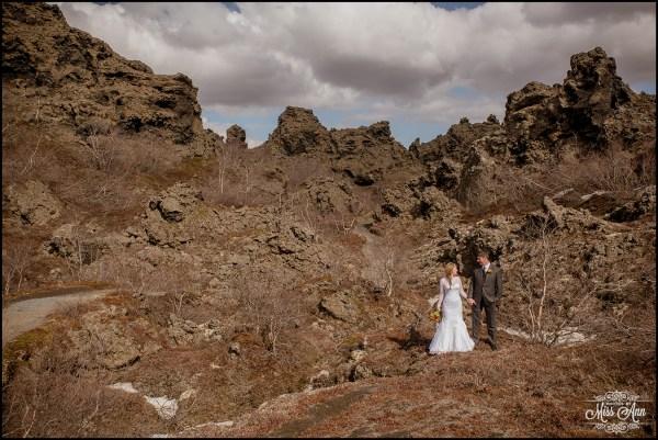 Iceland Wedding Photographer Dimmuborgir Lava Fields-13