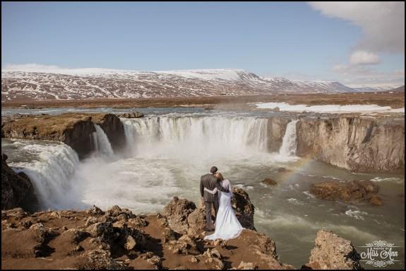 Iceland Wedding Photographer Godafoss Waterfall-3
