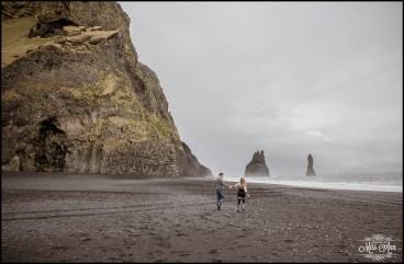 Iceland Post Wedding Session Reynisfjara Beach
