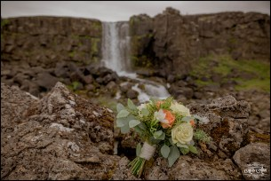 Iceland Wedding Oxarafoss Waterfall-3