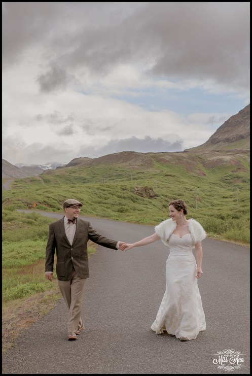 Rustic Iceland Wedding