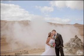 Namaskard Geothermal Area Wedding Photos