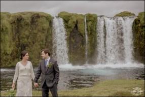 Iceland Waterfall Wedding Photographer-1