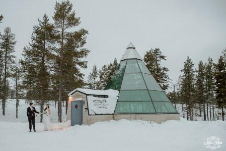 Finland Destination Wedding Igloo Hotel Photos by Miss Ann-32