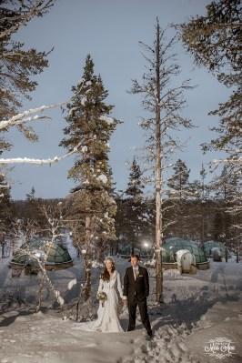 Iceland Wedding Igloo Hotel