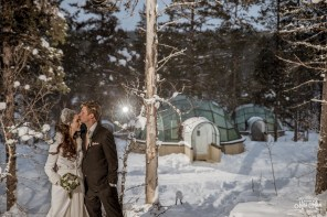 Igloo Hotel Wedding