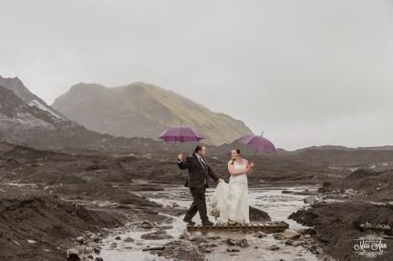 Iceland Glacier Wedding-7