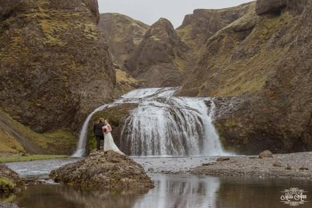 Iceland Waterfall Wedding-1