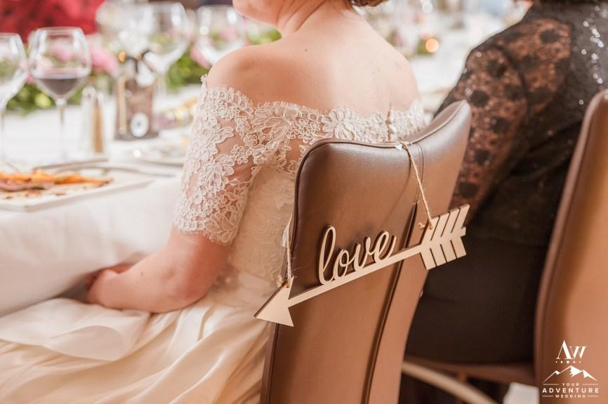 Iceland Wedding Sign - Wedding Details