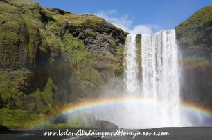 Iceland Wedding at Skogafoss Waterfall Iceland Weddings and Honeymoons