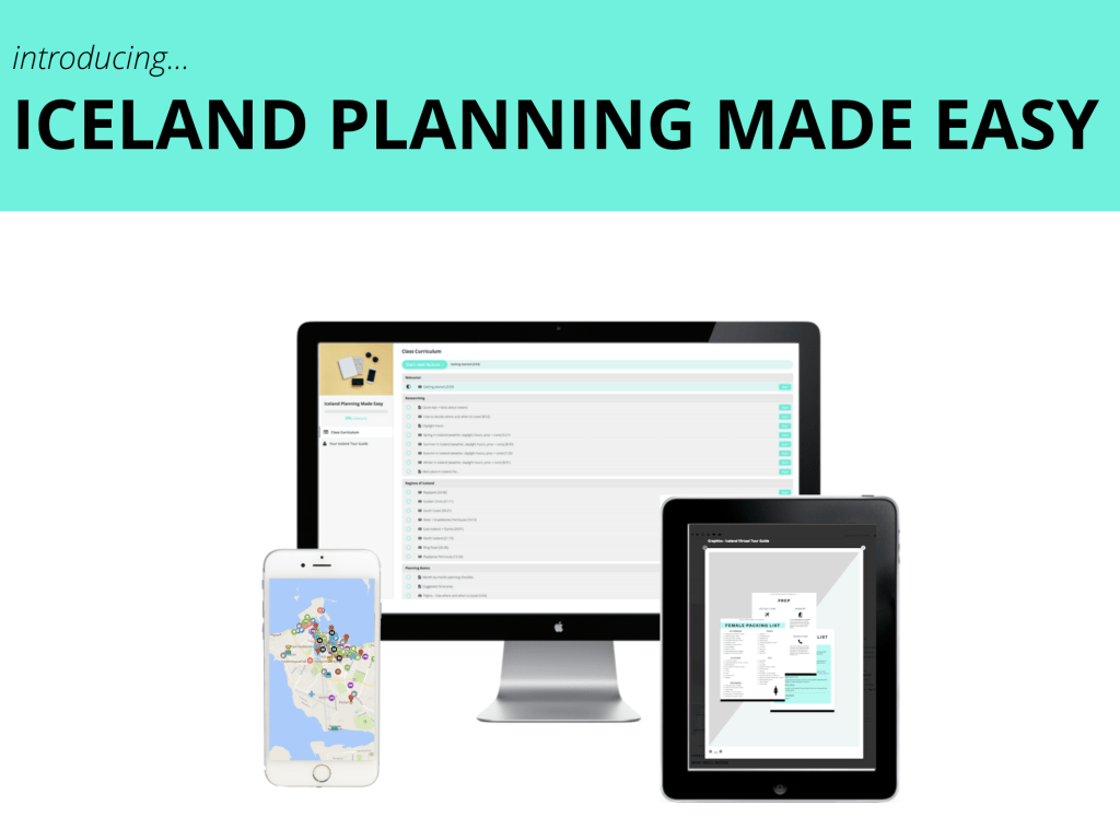 Iceland Planning – The COURSE!