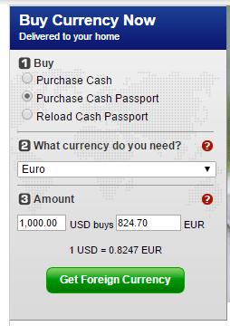 eur exchange