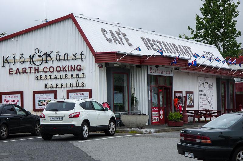 hveragerði Kjöt og kúnst building