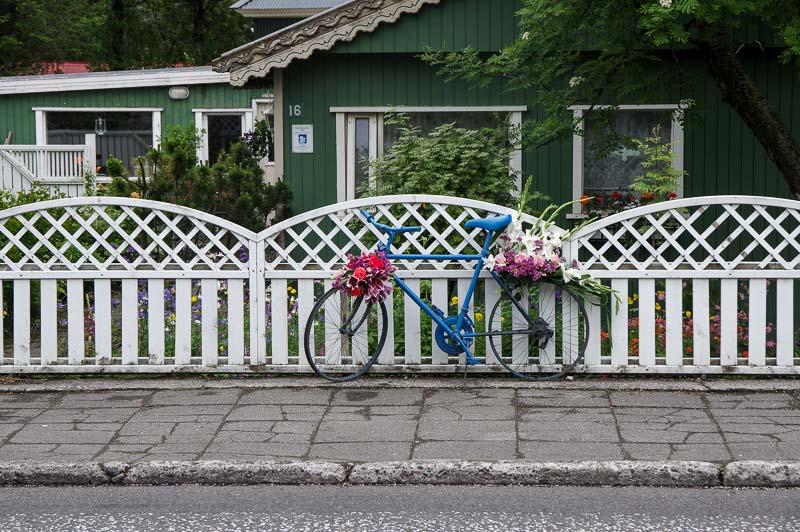 hveragerði bike flower show
