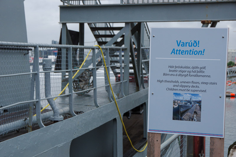 Óðinn Coast Guard Vessel warning