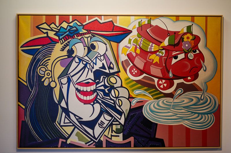 Hafnarhús art museum crazy art 1