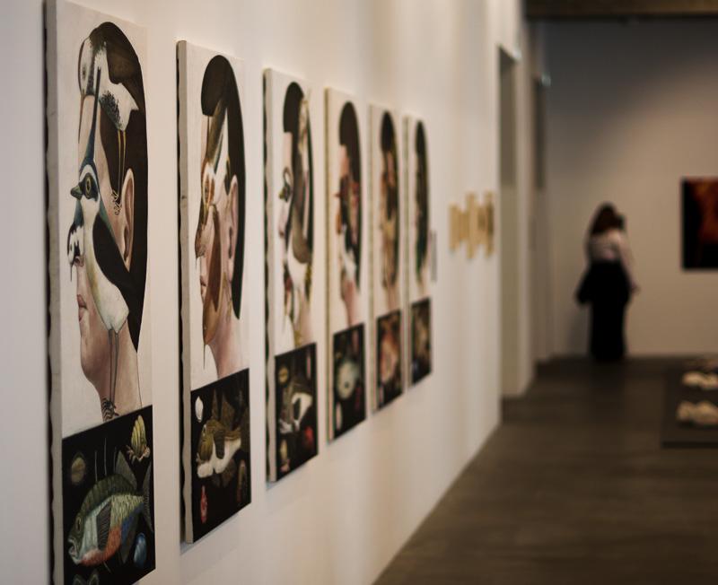 Hafnarhús art museum wall series