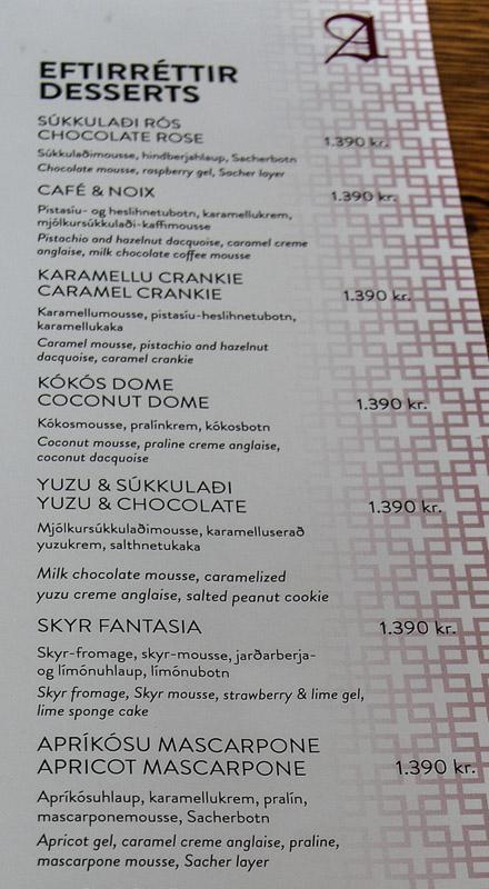 apotek dessert menu