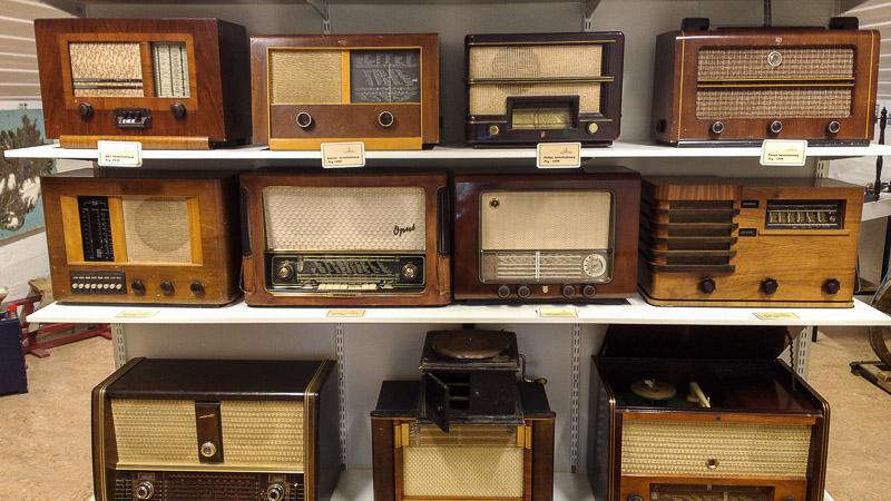 gardur folk museum radios