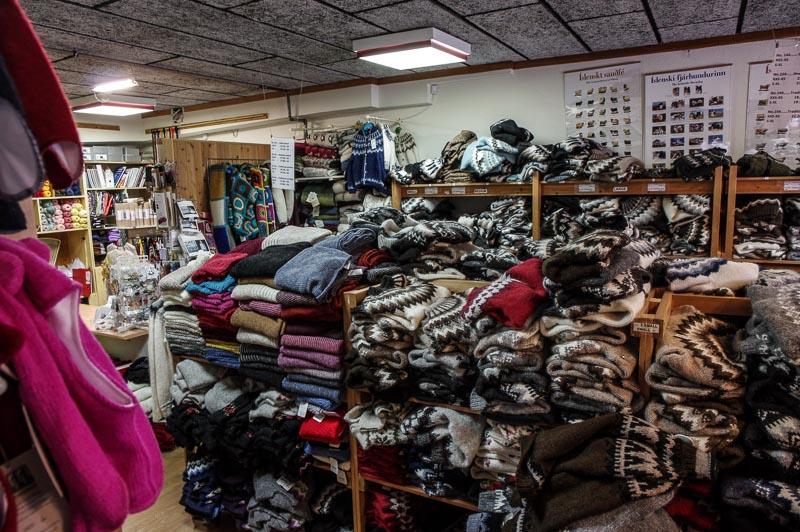 handknitting store chaotic fun